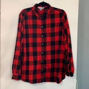 Buffalo Plaid Old Navy Button Down